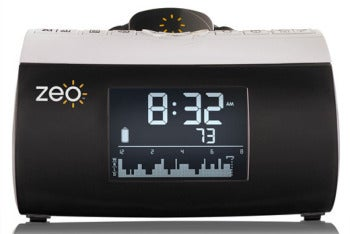 Zeo alarm clock and sleep tracking system