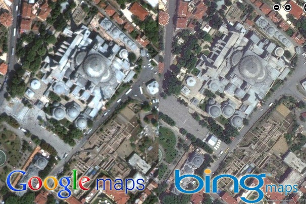 Google Maps vs. Bing Maps: A Showdown of Satellite Images ...