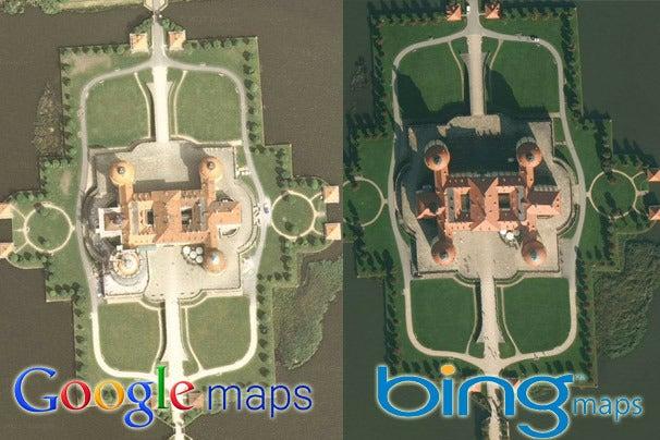 Google Maps Vs Bing Maps A Showdown Of Satellite Images PCWorld - Google maps earth satellite