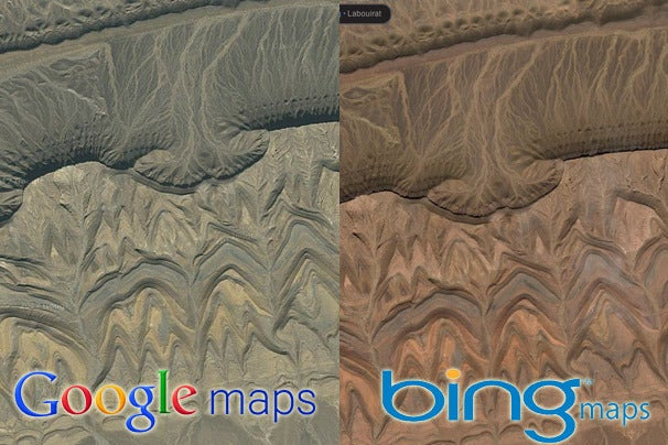 Google Maps vs. Bing Maps: A Showdown of Satellite Images