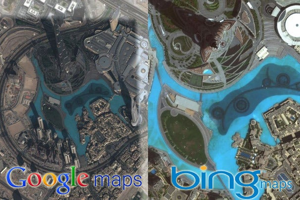 google maps vs bing maps a showdown of satellite images