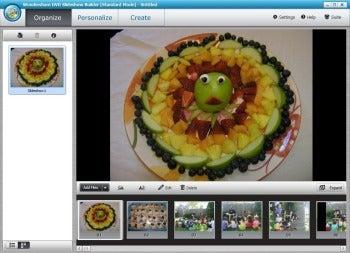Wondershare DVD Slideshow Builder Deluxe screenshot