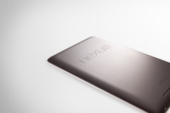 With its small size and rubberized back, the Nexus 7 can easily be held in one hand.