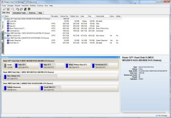 Paragon Hard Disk Manager 12 screenshot
