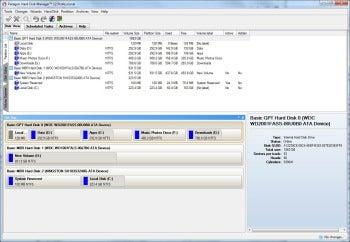 Paragon Hard Disk Manager 12 screenshot