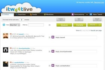 iTweetLive screenshot