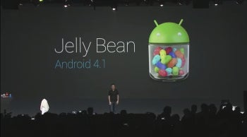 The Nexus 7 is powered by the new Android 4.1