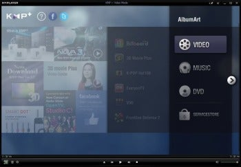 KMPlayer v3.2 screenshot