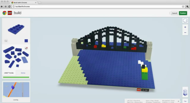 Lego build imports your online lego projects from chrome for Builder online