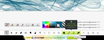 deviantART muro brush screenshot