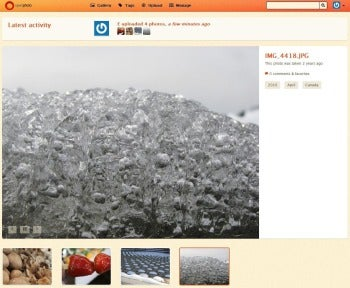 OpenPhoto image screenshot