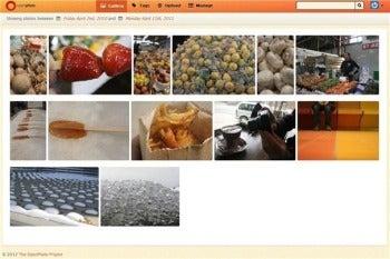 OpenPhoto gallery screenshot