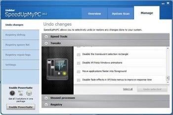 SpeedUpMyPC 2012 screenshot