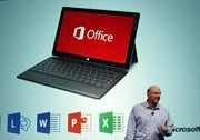 Microsoft CEO Steve Ballmer announces Office 2013.