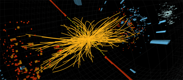CERN's interpretation of what they expect to see from the decay of a Higgs boson