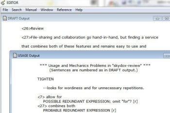 Serenity Software Editor screenshot