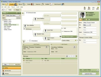 Family Tree Maker screenshot
