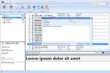 FontExplorer X Pro screenshot
