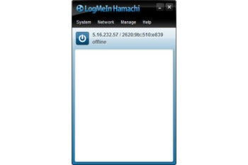 LogMeIn Hamachi screenshot