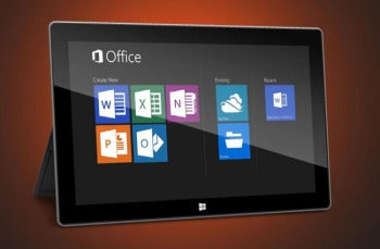 office 2013 on a tablet vs. touch friendly competition