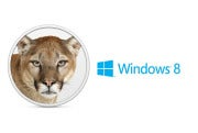OS X Mountain Lion versus Windows 8