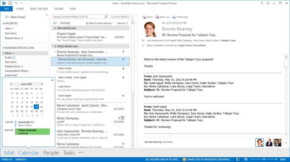 Microsoft outlook 2013 hands on pcworld for Use email template outlook 2013