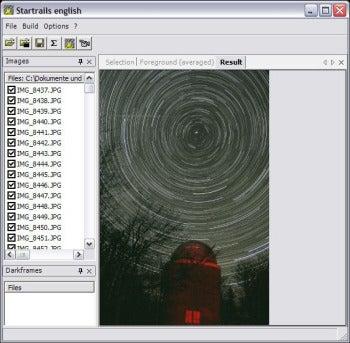 Startrails screenshot