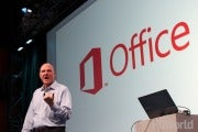 Microsoft CEO Steve Ballmer announces Microsoft 2013 in San Francisco.