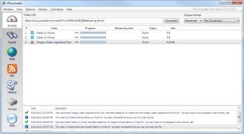VDownloader screenshot