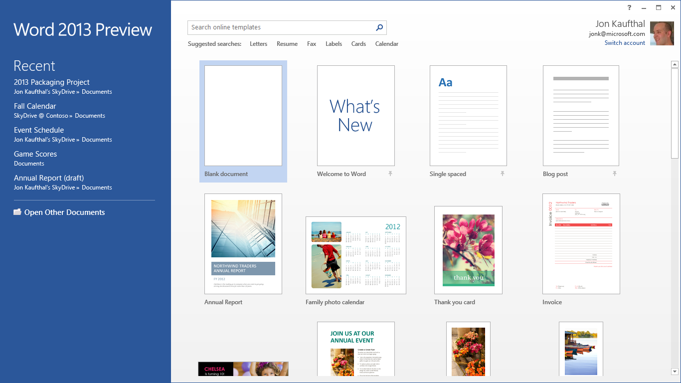 Microsoft Word 2013: Hands On | PCWorld