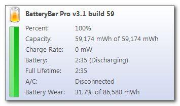 BatteryBar Pro