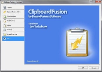 ClipboardFusion screenshot