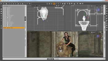 DAZ Studio traditional screenshot