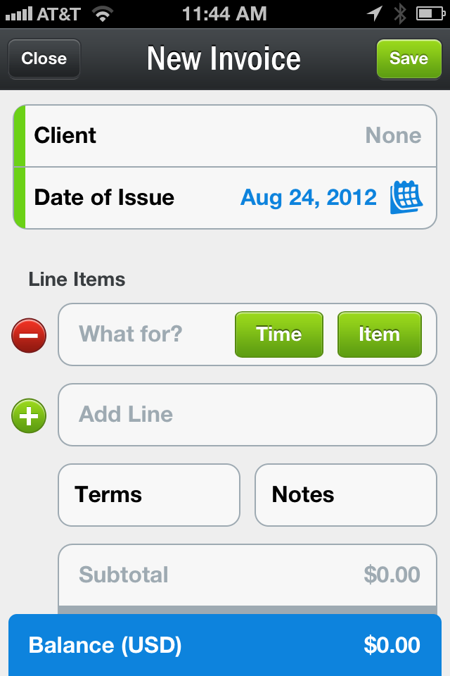 FreshBooks Launches IPhone App PCWorld - Create invoice app