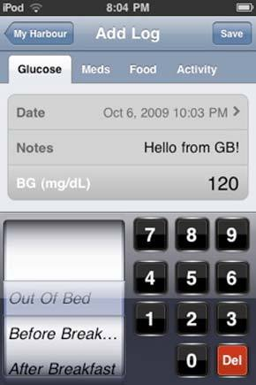 Glucose Buddy helps diabetics monitor their insulin levels