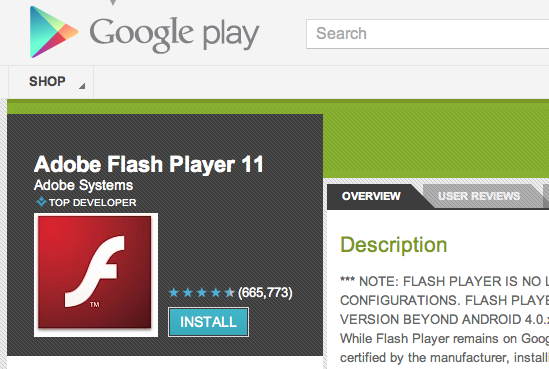 скачать adobe flash player for android