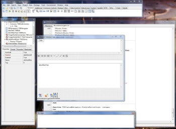 Lazarus IDE screenshot