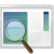 Windows Magnifier tool