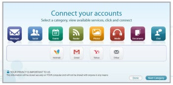MultiMi account connection screenshot