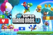 New Super Mario Bros. U for the Wii U