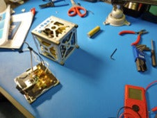 Assembly of PhoneSat 1.
