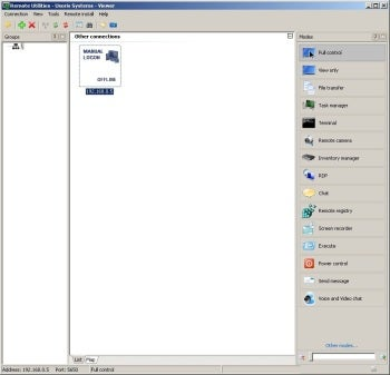 Remote Utilities Free Edition screenshot