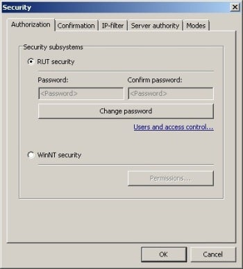 Remote Utilities Free Edition security screenshot