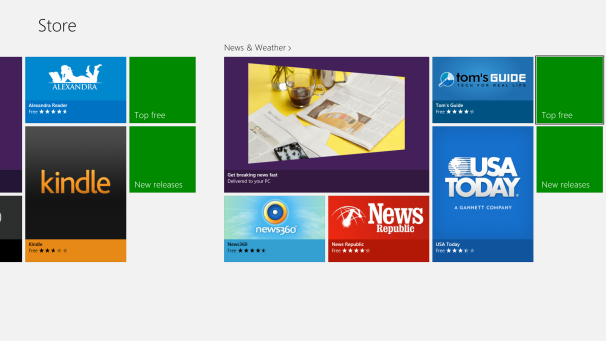 Microsoft Store in Windows 8