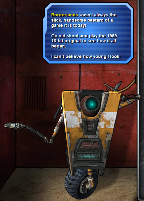 You heard the man....er....robot....Go play!