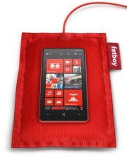 Nokia's 920 smartphone on charging pad