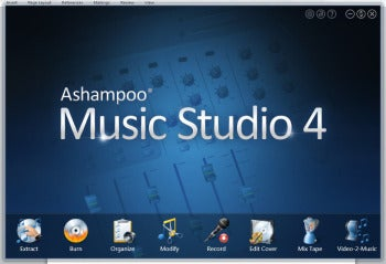Ashampoo Music Studio 4 screenshot