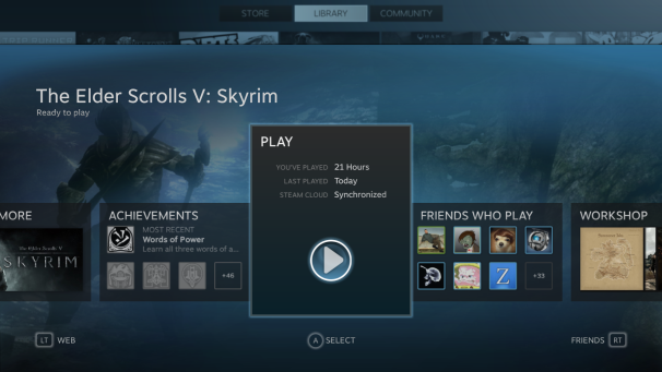 Hands-on with Steam's Big Picture mode | PCWorld