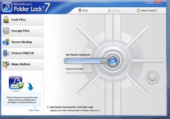 Folder Lock 7 screenshot