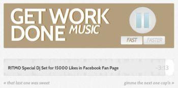Get Work Done Music